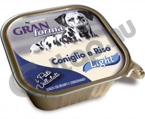 Gran Forma Dog Paté nyúl és rizs 150gr