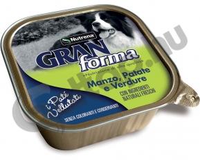 Gran Forma Dog Paté marha burgonya és zöldség 300gr