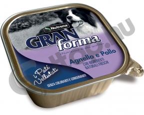 Gran Forma Dog Paté bárány és csirke 150gr